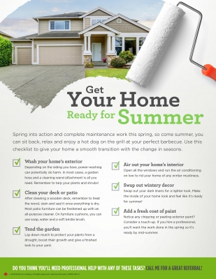 Real Estate Info Sheet - May 2019