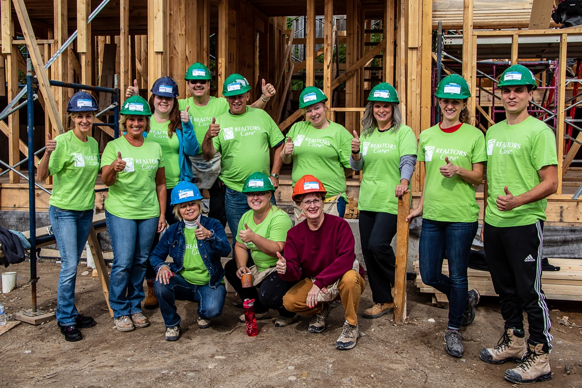 The Ingis Team a Part of Teamwork at Habitat for Humanity