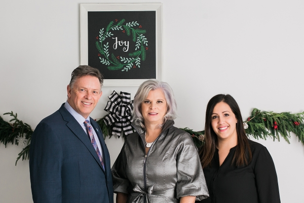 The Inglis Team Christmas Photo 2019